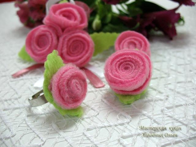 Кольцо Розочка