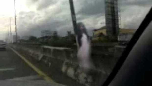 hantu sadikem sering menampakan di jembatan jiwan magetan
