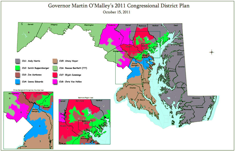 maryland 6th congressional district polls - 1147×738