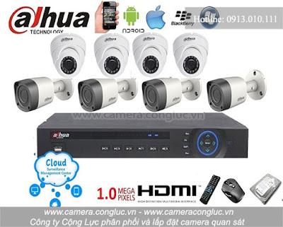 Phân phối và lắp đặt trọn bộ hệ thống camera giám sát giá rẻ tại Miếu Hai Xã Hải Phòng.
