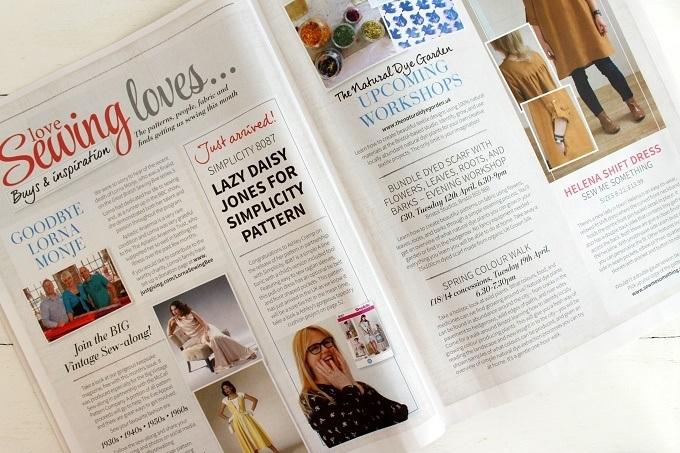 lazy daisy jones in the magazines