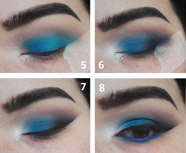Tutoriel Maquillage Yeux Bleu