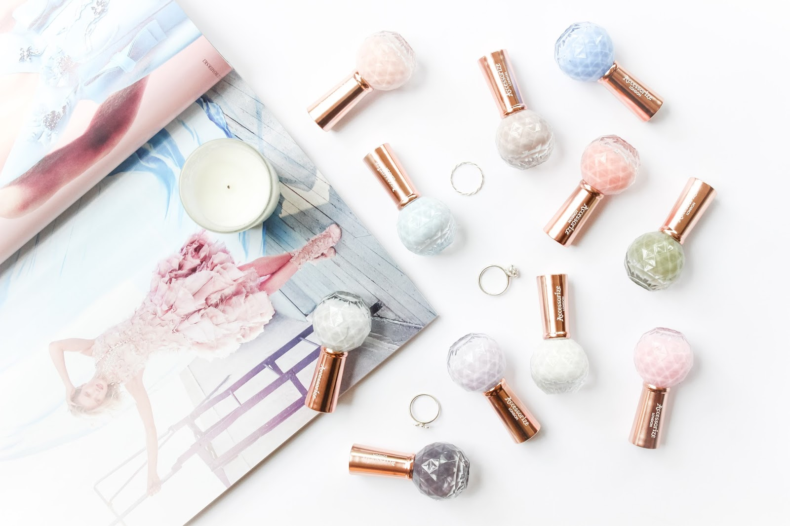 New: Accessorize Nail Polishes