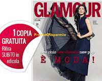 Logo Ritira gratis la copia di Glamour in edicola