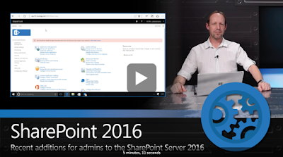 What's New for Admin in SharePoint 2016