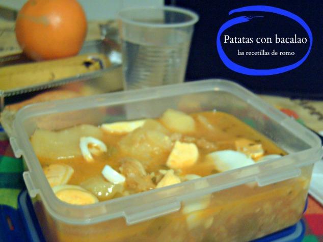 """Patatas con bacalao"""