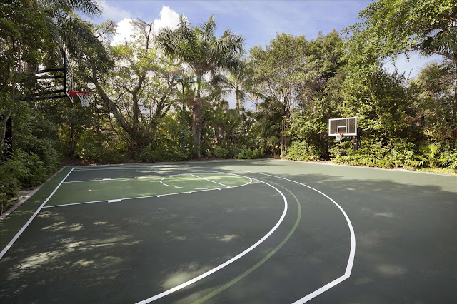The basketball court on the #estate.