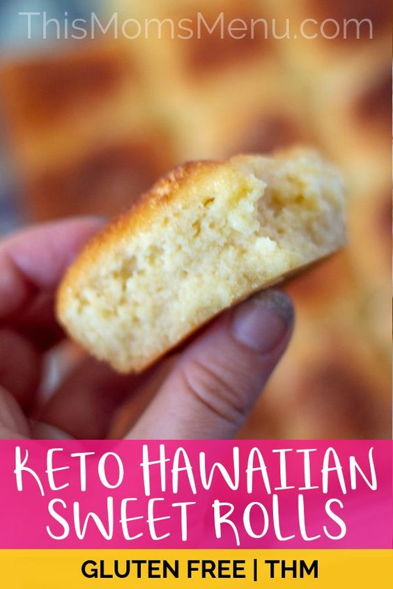 KETO SWEET HAWAIIAN ROLLS