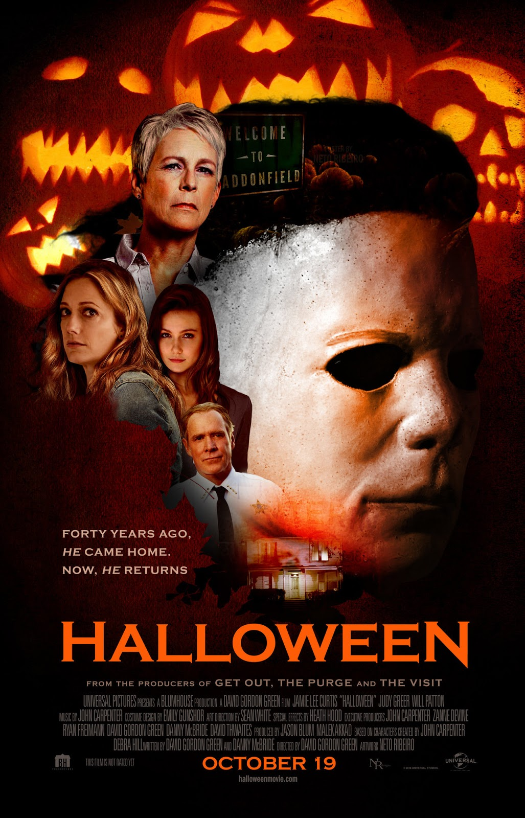 Halloween 2018 Fan Poster.The Horrors Of Halloween Halloween 2018 Fan Artwork Posters