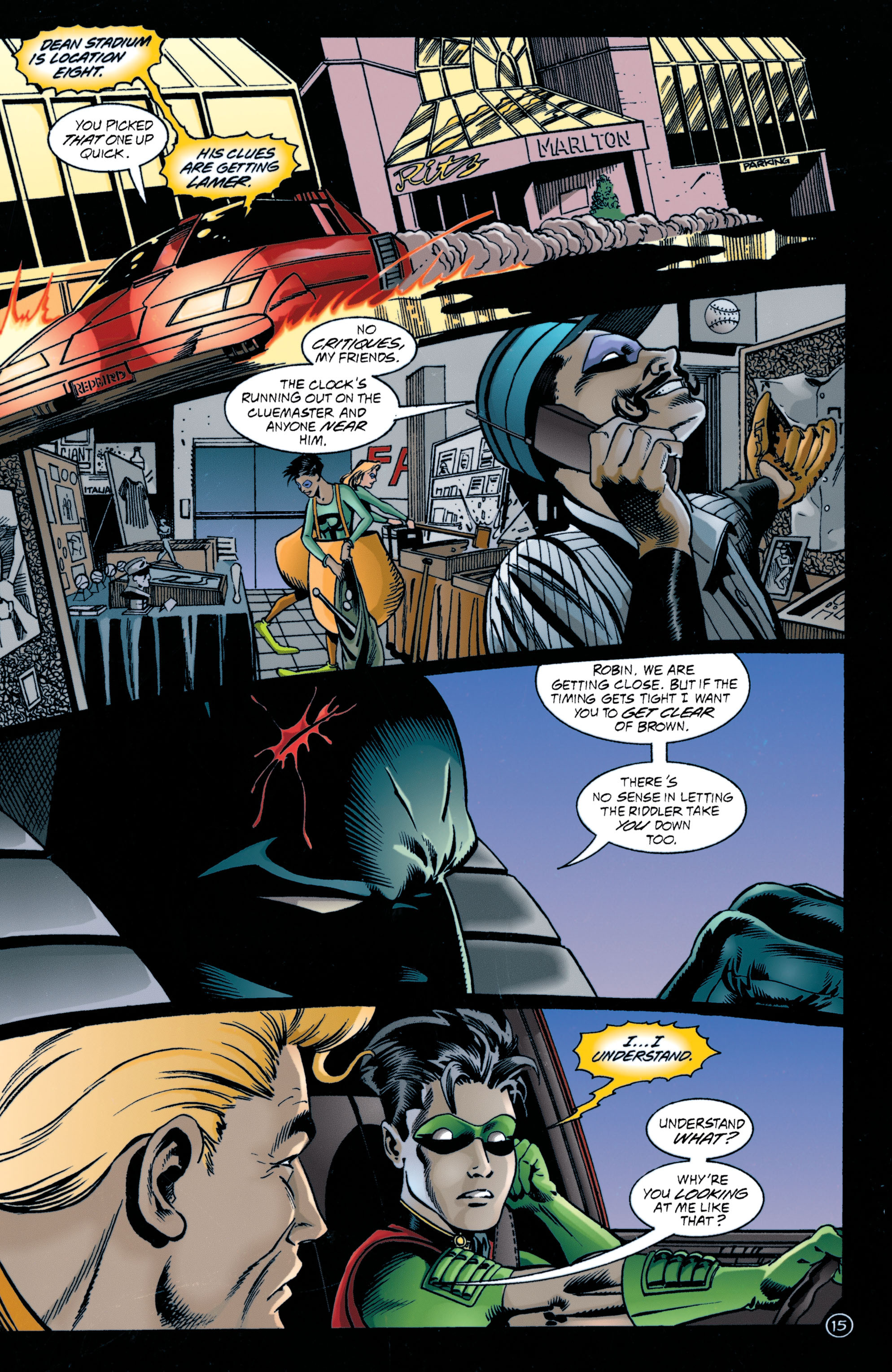 Detective Comics (1937) 707 Page 15