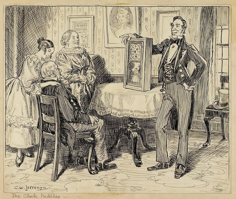 Lily Oak Books The Clockmaker By Thomas Chandler Haliburton border=