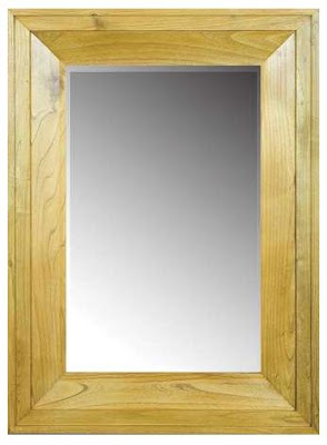 minimalist teak mirror,mirror teak minimalist furniture Indonesia,interior classic furniture,CODE MIRR112