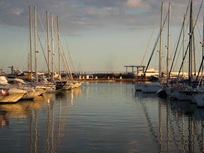 Barcos en el puerto de Cambrils
