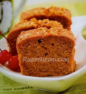 Resep Roti Cake Labu Kuning