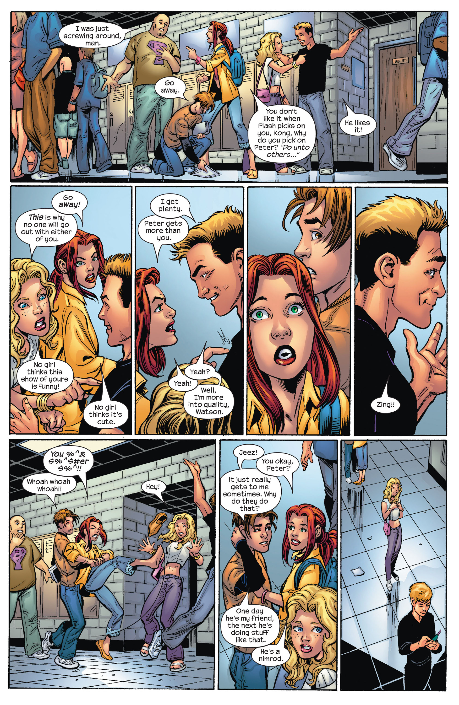 Read online Ultimate Spider-Man (2000) comic -  Issue #68 - 8