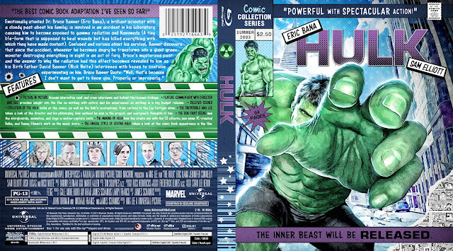 Capa Bluray Hulk