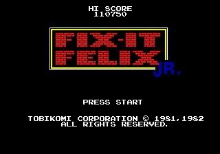 fix it felix megadrive