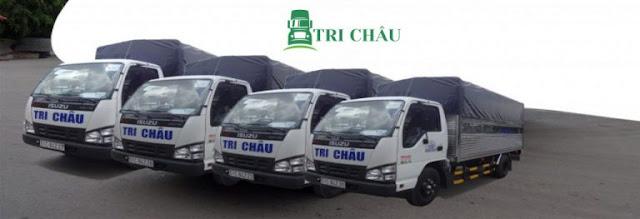 Xe tải 2 tấn của công ty vận tải tri châu