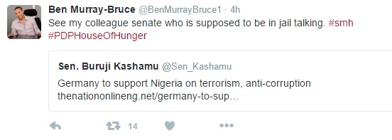 Ben Bruce Takes Major Swipe At Kashamu On Twitter