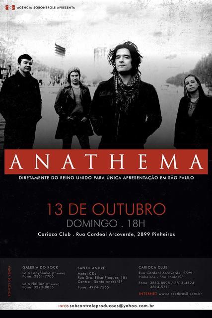 Anathema em São Paulo