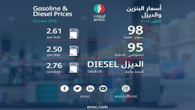 الإمارات ترفع أسعار البنزين والديزل خلال أيام