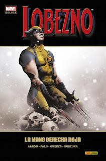 LOBEZNO 7 LA MANO DERECHA ROJA  Marvel comic de Aaron, Palo, Guedes y Sudzuka LA MANO DERECHA ROJA