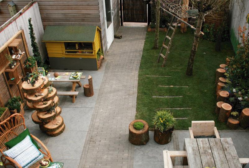 Un giardino a misura di bambini blog di arredamento e for Idee giardino grande