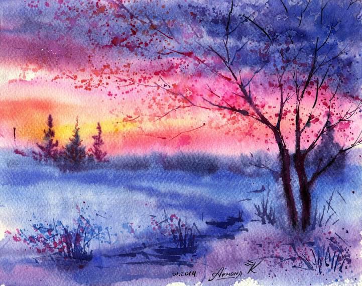 15 لوحة للرسام Anna Armona