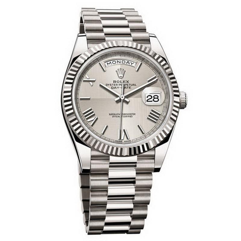 d84767bbd501 Regalo de Navidad de imitación Rolex Oyster Perpetual Day Date 40 228239  reloj revisión