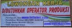 Lowongan terbaru Operator Produksi PT Haier Electrical Appliances Indonesia