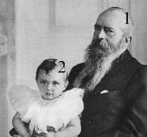 Michel Nicolaïévitch de Russie  Wilhelm de Prusse Romanov Hohenzollern