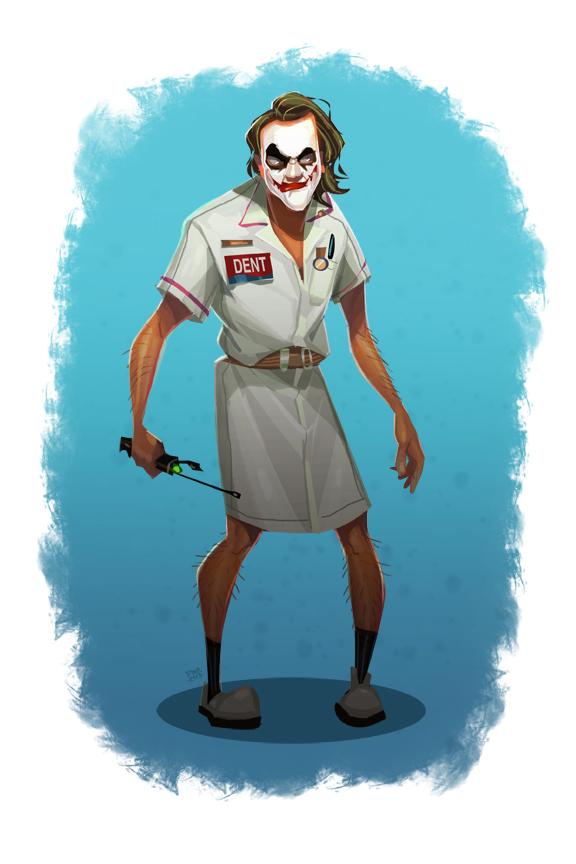 toyhaven: Nurse Joker from The Dark Knight
