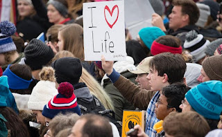 Time lapse video destroys claim only 'thousands' attended 2019 March for Life