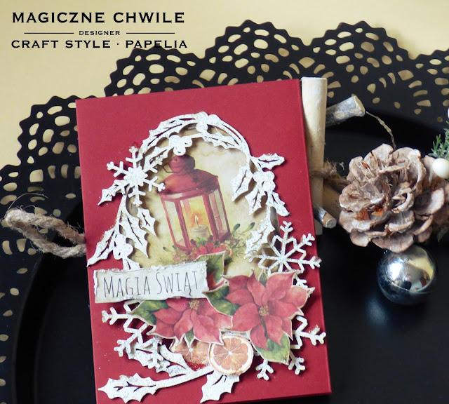 Magia Świąt.. i wyzwanie Craft Style;)