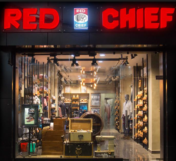 Interiors of RED CHIEF store at Kanpur