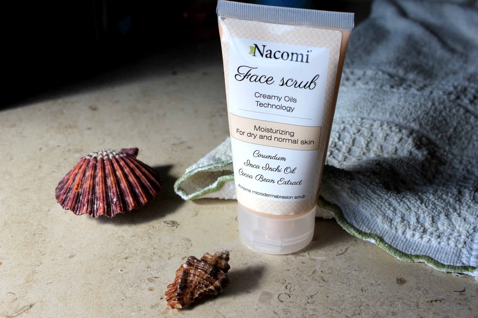 face scrub from nacomi full review