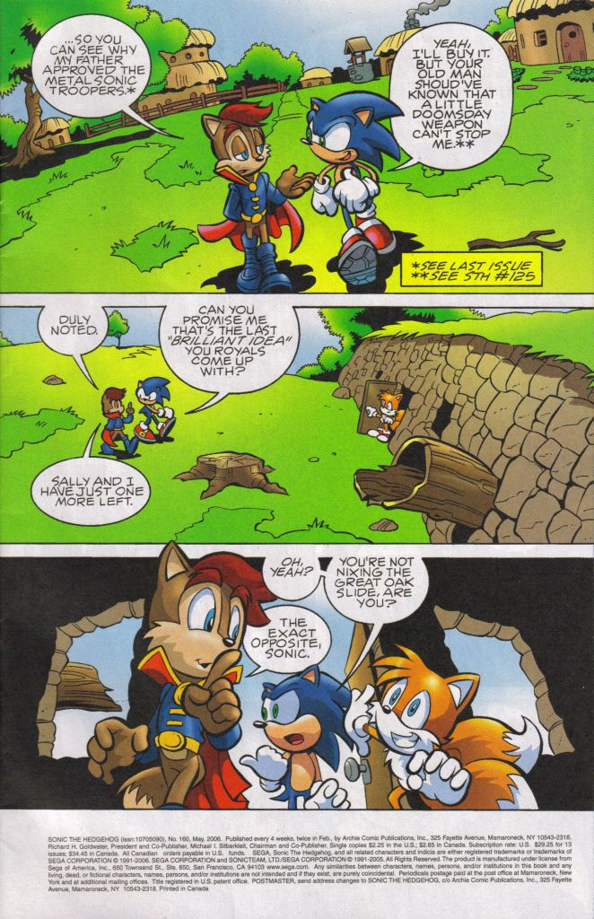 Read online Sonic The Hedgehog comic -  Issue #160 - 3