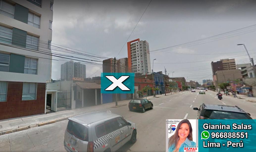 Terreno En Venta Lima Petit Thouars Santa Beatriz Hasta 20 Pisos Cm