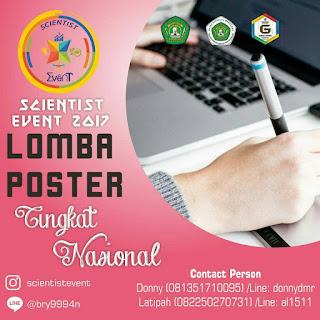 Lomba Desain Poster Nasional 2017 di Unmul