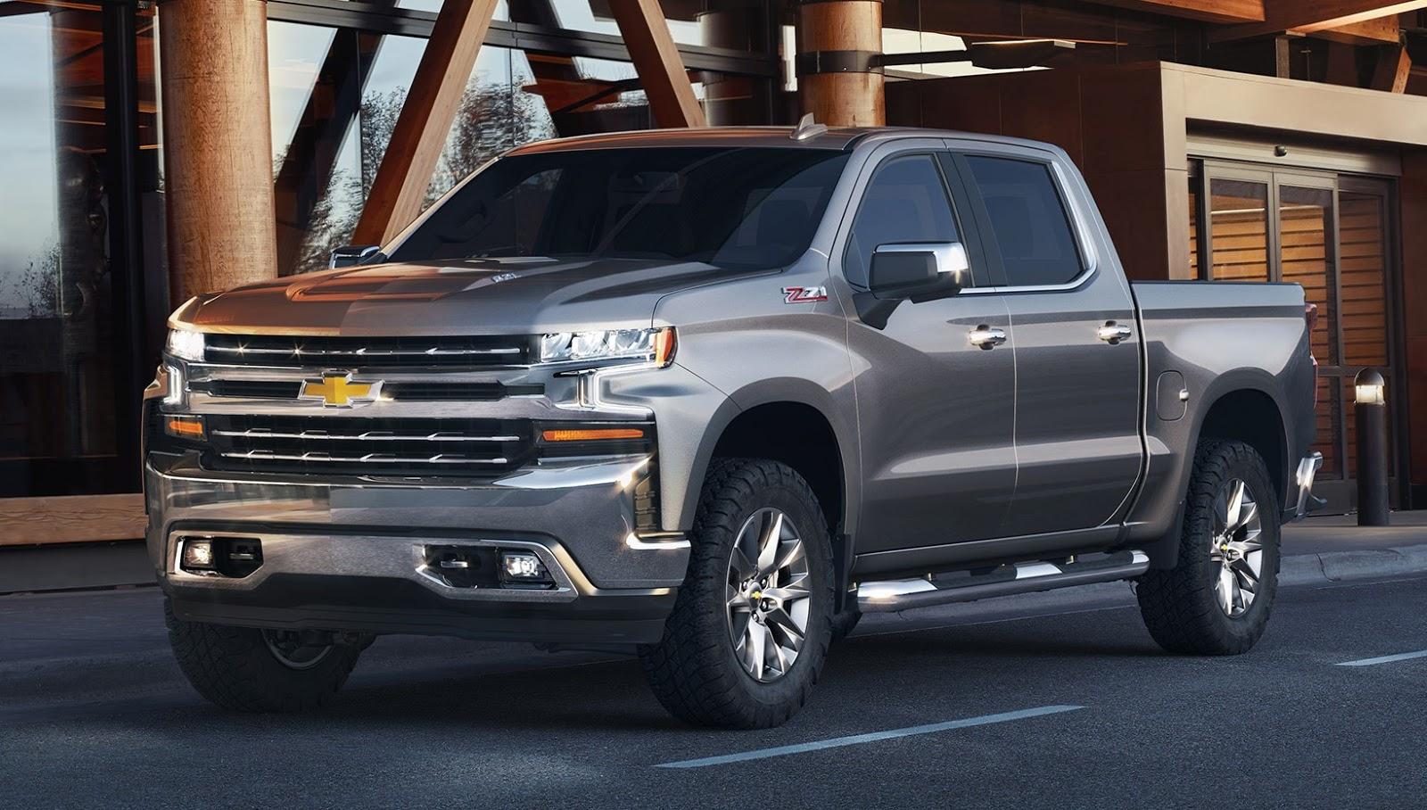 Chevrolet Silverado estreia nova geração no Salão de Detroit