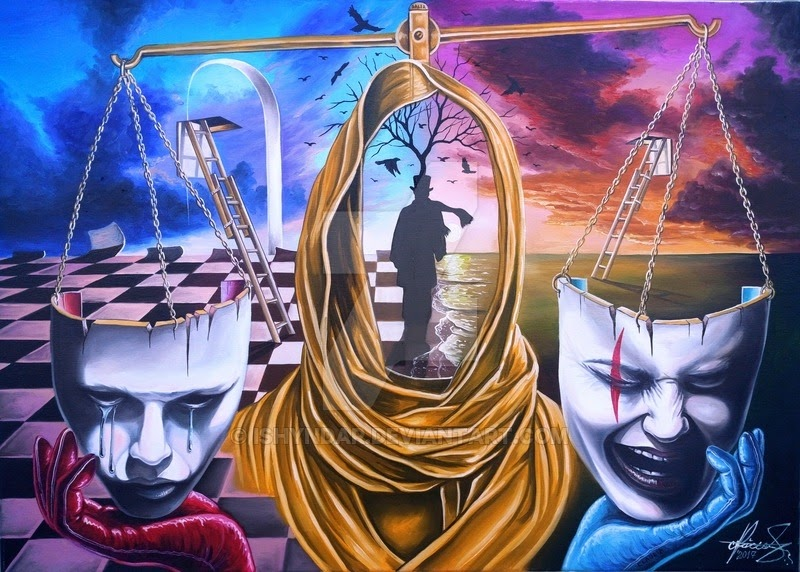 14-To-be-or-not-to-be-Raceanu-Mihai-Adrian-Ishyndar-Mapping-Surrealism-with-Oil-on-Canvas-www-designstack-co
