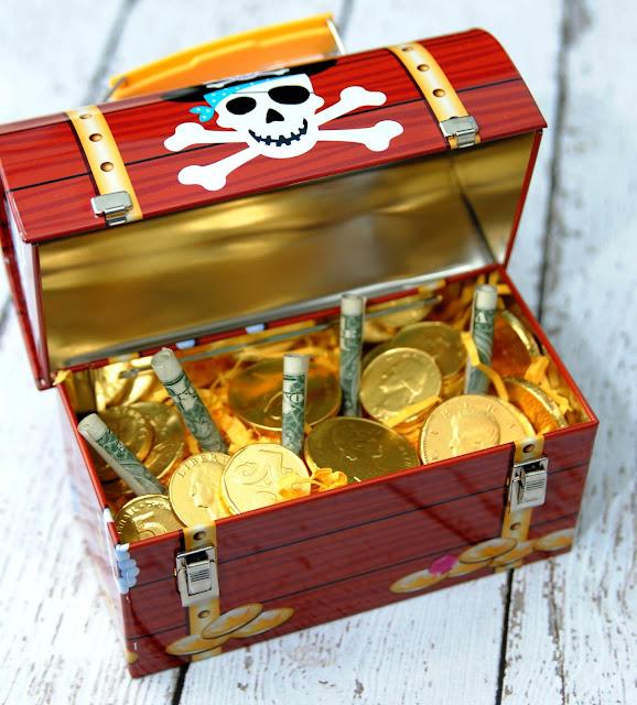 treasure chest gift box