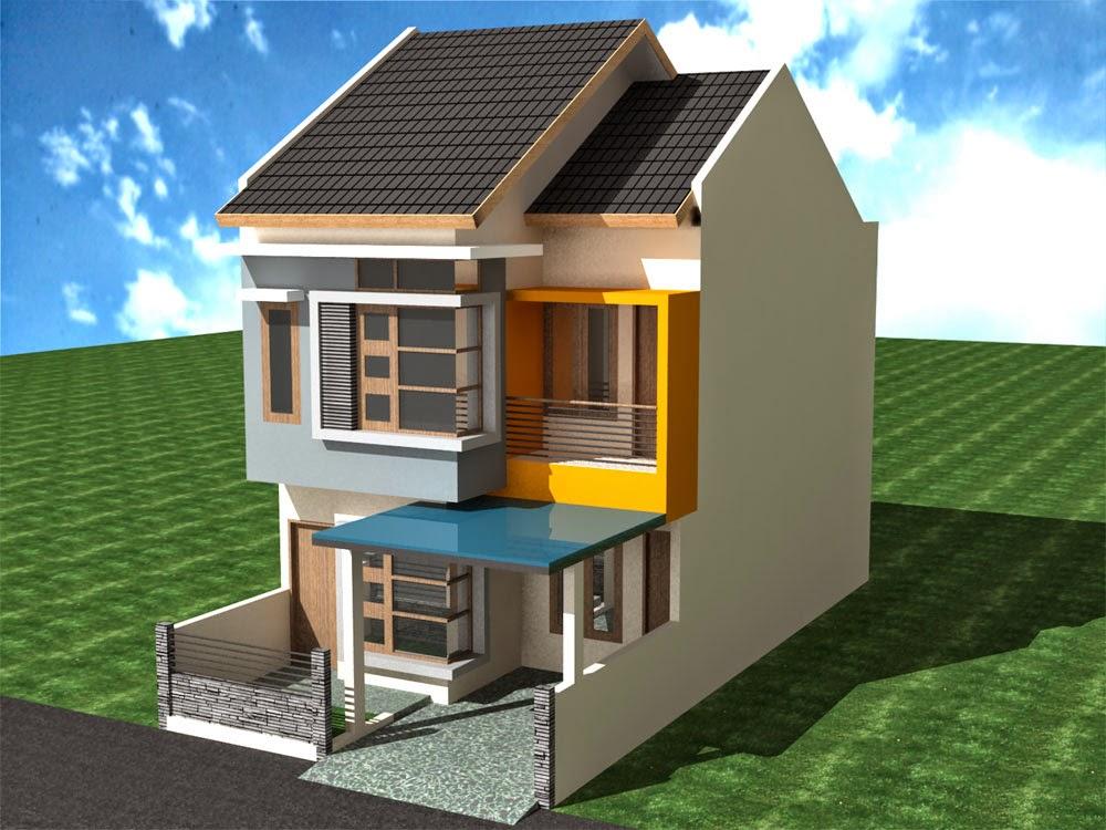 Desain Rumah Minimalis 2 Lantai Type 29 - Foto Desain ...