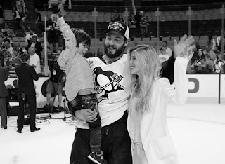 Kris Letang's baby and Wife Catherine LaFlamme