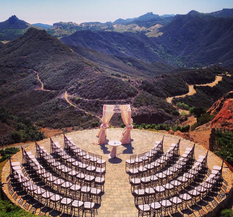 Malibu Rocky Oaks Wedding Venue