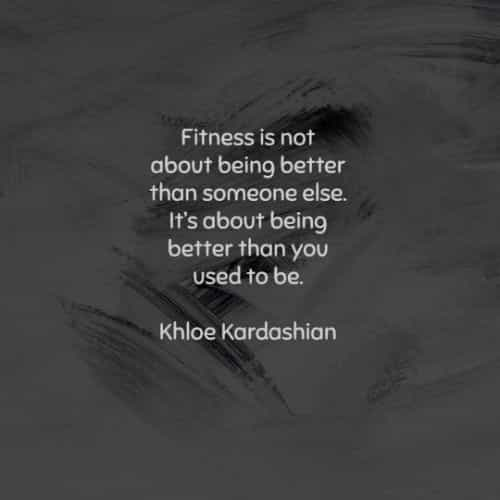 Fitness quotes that'll inspire taking care of yourself
