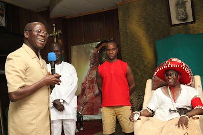 Progressive Governors' Forum Visits Crown Prince of Benin Kingdom