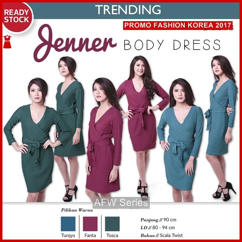 BAMFGW071 Jenner Dress Knit Wanita PROMO BMG