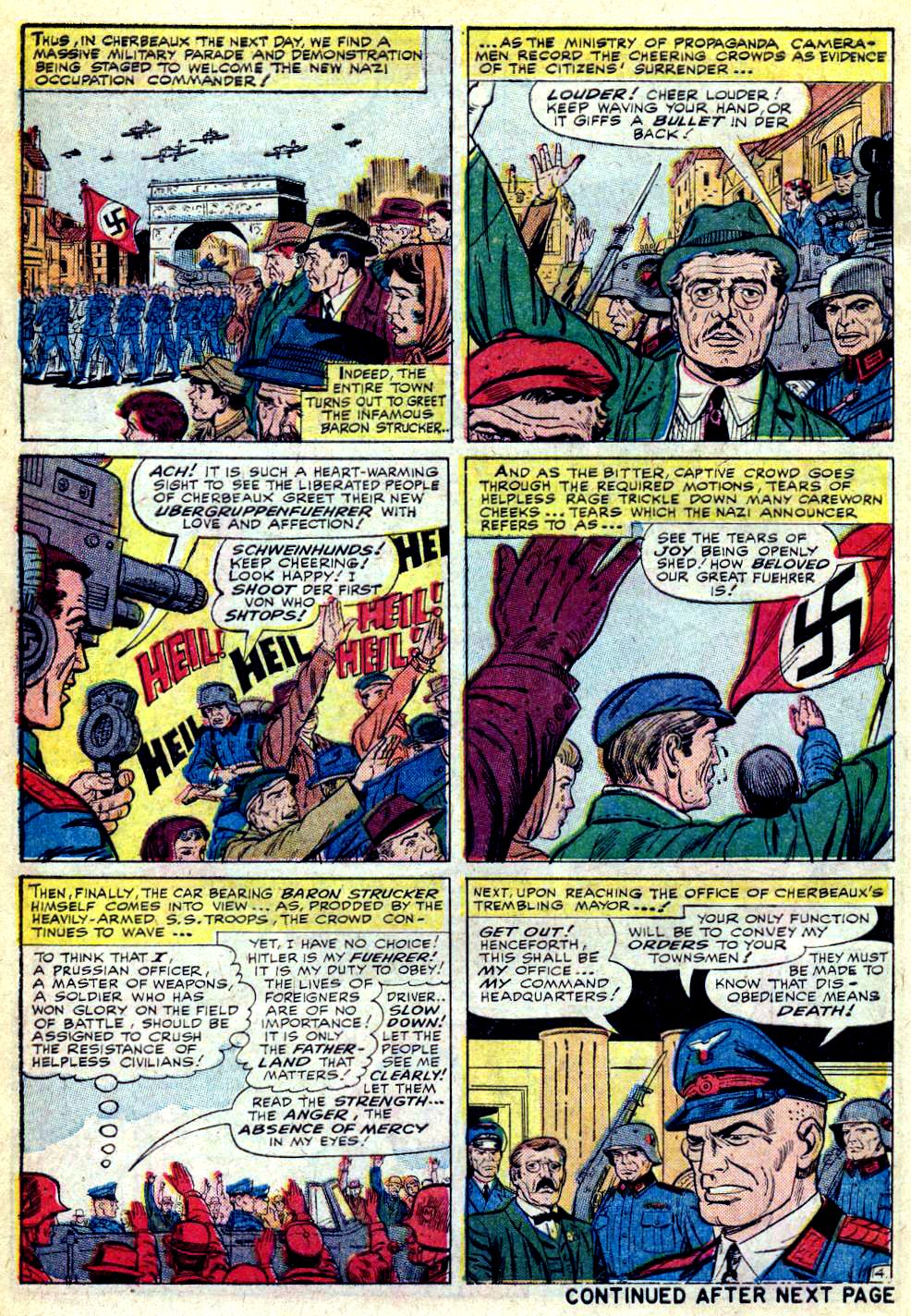 Read online Sgt. Fury comic -  Issue #28 - 6