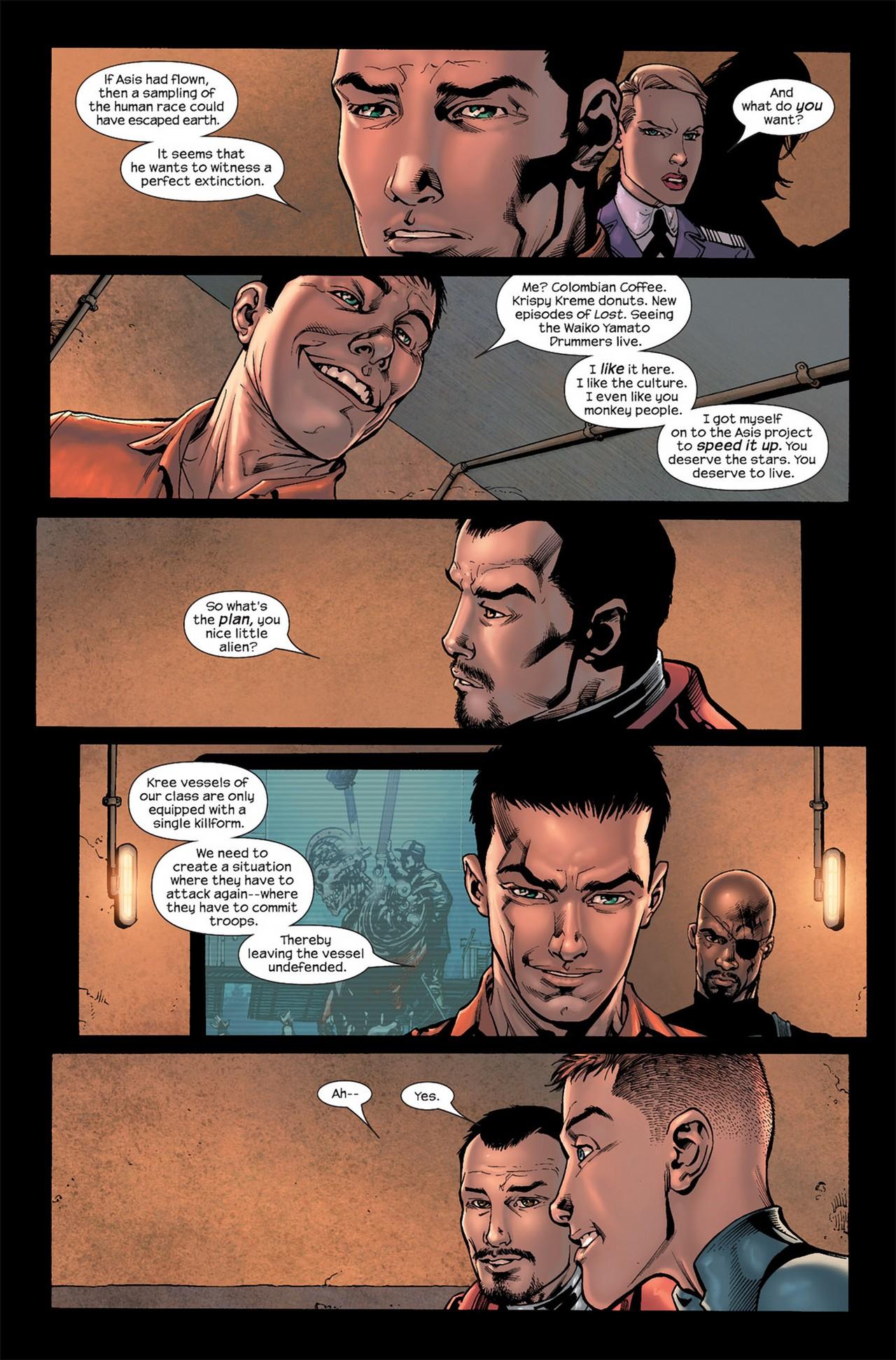Read online Ultimate Secret comic -  Issue #3 - 7